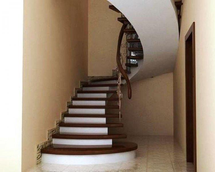 Бетонная лестница своими руками в дом