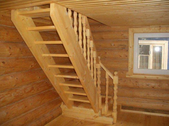Лестницы своими руками для дачи