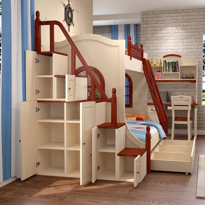 Кровать двухъярусная с лестницей своими руками