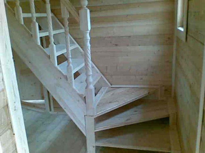 Как сделать лестницу с фото