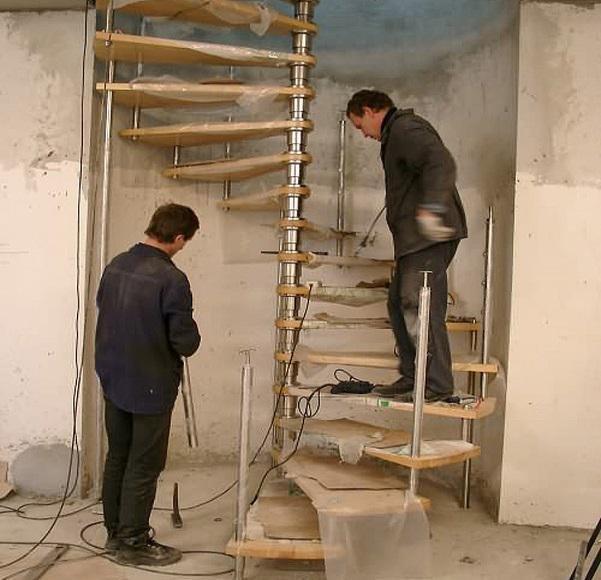 Перила для лестницы металлические своими руками 115