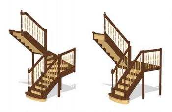 П-образная лестница: особенности проектирования и монтажа конструкции